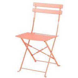 Beliani Meble ogrodowe koralowe 2 krzesła fiori (4251682206044)