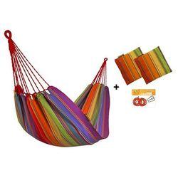 Zestaw hamakowy H w kolorze 298 z poduszkami i zestawem montażowym, Colorful H-PZS-298