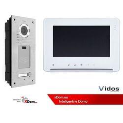 Vidos Zestaw wideodomofonu stacja bramowa z czytnikiem rfid monitor 7'' s561a_m690ws2