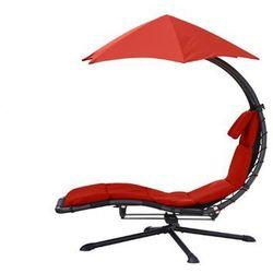 Fotel hamakowy, Czerwony DRM360 - produkt z kategorii- Krzesła ogrodowe