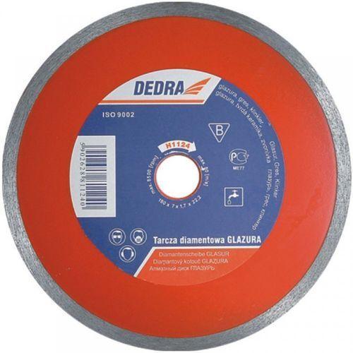 Tarcza do cięcia DEDRA H1124E 180 x 25.4 mm do glazury ciągła - produkt dostępny w ELECTRO.pl