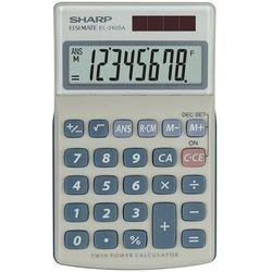 Sharp Kalkulator handheld blister el240sab szary