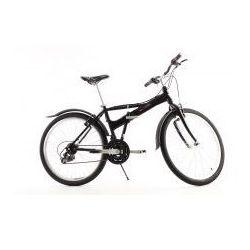 Aluminiowy rower składany SKŁADAK MIFA 26 cali, 21-biegów SHIMANO czarny ()