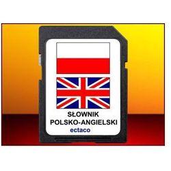 Ectaco Karta z językiem angielsko-polskim, do tłumacza partner-500.