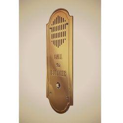 Radbit Stylowy domofon retro - mosiądz