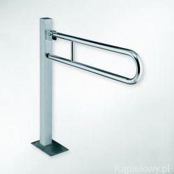 Bemeta Help poręcz stojąca uchylna 81,30 cm stal nierdzewna 301107601, kategoria: uchwyty łazienkowe