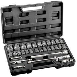 Zestaw kluczy nasadowych 1/2 cala 38d631 (32 elementy) + zamów z dostawą jutro! marki Topex