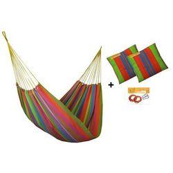 Zestaw hamakowy H w kolorze 256 z poduszkami i zestawem montażowym, Amelie H-PZS-256