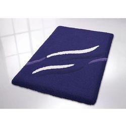 Dywanik łazienkowy  swipe blue wyprodukowany przez Kleine wolke