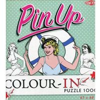 Pin-Up Color-In puzzle do kolorowania 1000, oprawa kartonowa