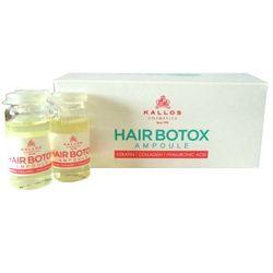 Kallos BOTOX do włosów z kwasem hialuronowym i keratyną 10ml - sprawdź w dr włos