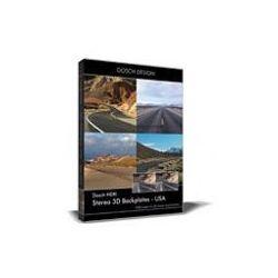 DOSCH HDRI: Stereo 3D Backplates - USA z kategorii Programy graficzne i CAD