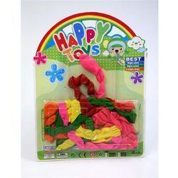 Zestaw balonów kolorowych, Duże dżdżownice z kategorii artykuły szkolne i plastyczne