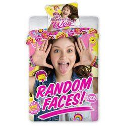 Pościel Soy Luna 140x200 Random Faces! - produkt z kategorii- Komplety pościeli dla dzieci