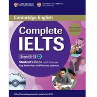 Complete IELTS Bands 6.5-7.5. Podręcznik z Kluczem + CD-ROM + CD, oprawa miękka