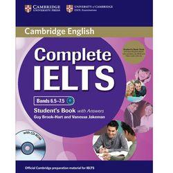 Complete IELTS Bands 6.5-7.5. Podręcznik z Kluczem + CD-ROM + CD, książka w oprawie miękkej
