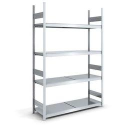 Hofe Regał wtykowy o dużej pojemności z półkami stalowymi,wys. 2500 mm, szer. półki 1500 mm