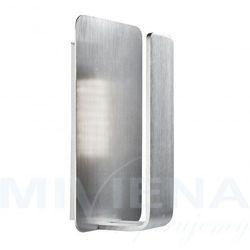 Kinkiet LED 10 srebrny poliwęglan, 1898SI