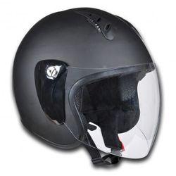 Kask na motor, otwarty S, czarny, produkt marki vidaXL