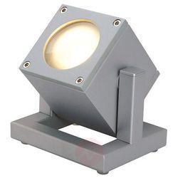 Lampa ogrodowa Spotline Cubix I / 132832 / srebrnoszary (4024163093163)