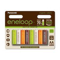eneloop organic r6/aa 1900mah - opak. 8 akumulatorków (bk-3mcce-8re)., marki Panasonic