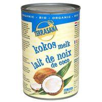 Terrasana Mleczko kokosowe 400ml -  (80% kokosa) eko bez gumy guar