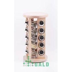obrotowa półka 20 el. jasne drewno połysk 5901832921738 marki Gald