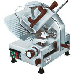 Krajalnica półautomatyczna do wędlin lub sera z nożem pochyłym 300mm - produkt z kategorii- Krajalnice ga