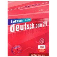 deutsch.com 2/1,Arbeitsbuch mit 1 CD edycja polska (zeszyt ćwiczeń), Duden Verlag / Hueber