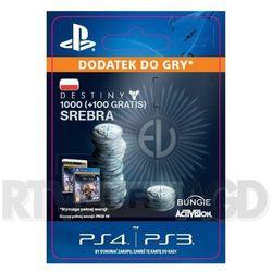 Destiny - 1000+100 sztuk srebra [kod aktywacyjny], marki Sony