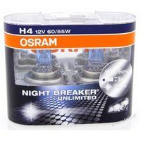 H4 NIGHT BREAKER UNLIMITED duobox (+110%) - żarówka samochodowa 64193NBU Osram, towar z kategorii: Żarówki