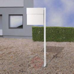Absolut/ radius Stojąca skrzynka na listy letterman iv, biała (4250208615094)
