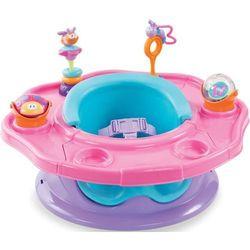 Krzesełko SUMMER INFANT wielofunkcyjne - Super Seat - Różowy