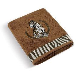 ręcznik kąpielowy lampart brązowy, 70 x 140 cm , 70 x 140 cm, marki Bellatex