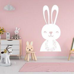 Naklejka na ścianę dla dzieci zajączek 2491 marki Wally - piękno dekoracji