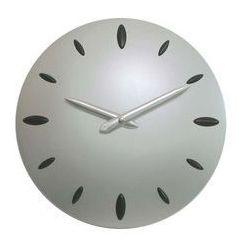 Zegar ścienny srebrny sferia marki Atrix