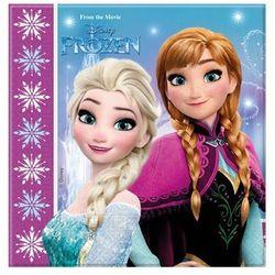 Serwetki urodzinowe Frozen - Kraina Lodu - 33 cm - 20 szt.