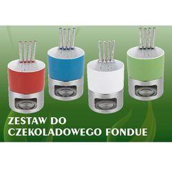 ZESTAW DO FONDUE - 500 ml NIEBIESKIE