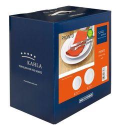 Kahla pronto porcelana biała komplet obiadowy 12 el