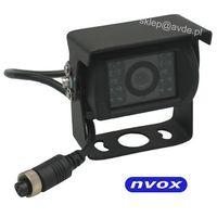 NVOX GDB2094 Samochodowa kamera cofania 4PIN CCD SHARP w metalowej obudowie 12V 24V