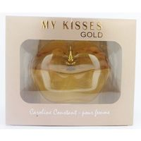 Perfumy MY KISSES GOLD usta 100ML frezja, róża, jaśmin, cedr