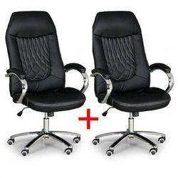 B2b partner Fotel biurowy superior 1+1 gratis, czarny