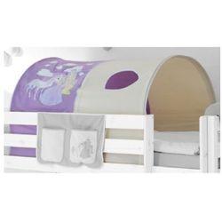 Ticaa tunel do łóżek piętrowych konik kolor fioletowo-beżowy od producenta Ticaa kindermöbel