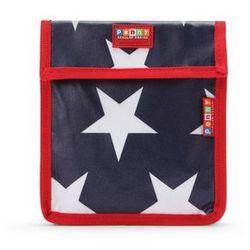 Penny Scallan Design, torebka na przekąski, wielokrotnego użytku, granatowa w gwiazdy z kategorii artykuły szkolne i plastyczne
