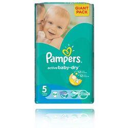 active baby giant pack pieluchy 5 junior 64szt wyprodukowany przez Pampers
