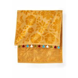 Ręczniki z kolorowymi chwostami (2 szt.) żółty curry marki Bonprix