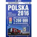 Atlas samochodowy Polska 2016 dla profesjonalistów 1:200 000 - Wysyłka od 3,99 - porównuj ceny z wysyłką, praca zbiorowa
