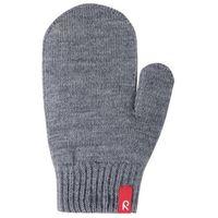 Rękawiczki Reima Stig cienka włóczka wełniana szare jednopalczaste z kategorii Rękawiczki