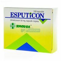 Esputicon 50 mg x 100 kaps (5909990355228)