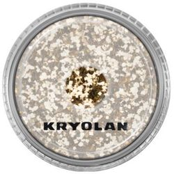 polyester glimmer coarse (light gold) gruby sypki brokat - light gold (2901), marki Kryolan